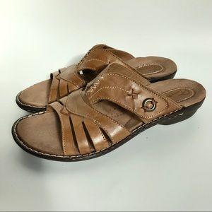 Earth Origins women's Skipper slip on sandals- 10